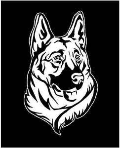 German Shepherd Dog Decal Custom Vinyl Car Truck Window Sticker Personalize