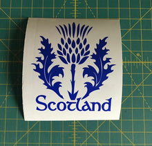Load image into Gallery viewer, scotland thistle decal car truck window scottish sticker