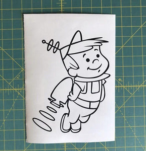 elroy jetson car window decal