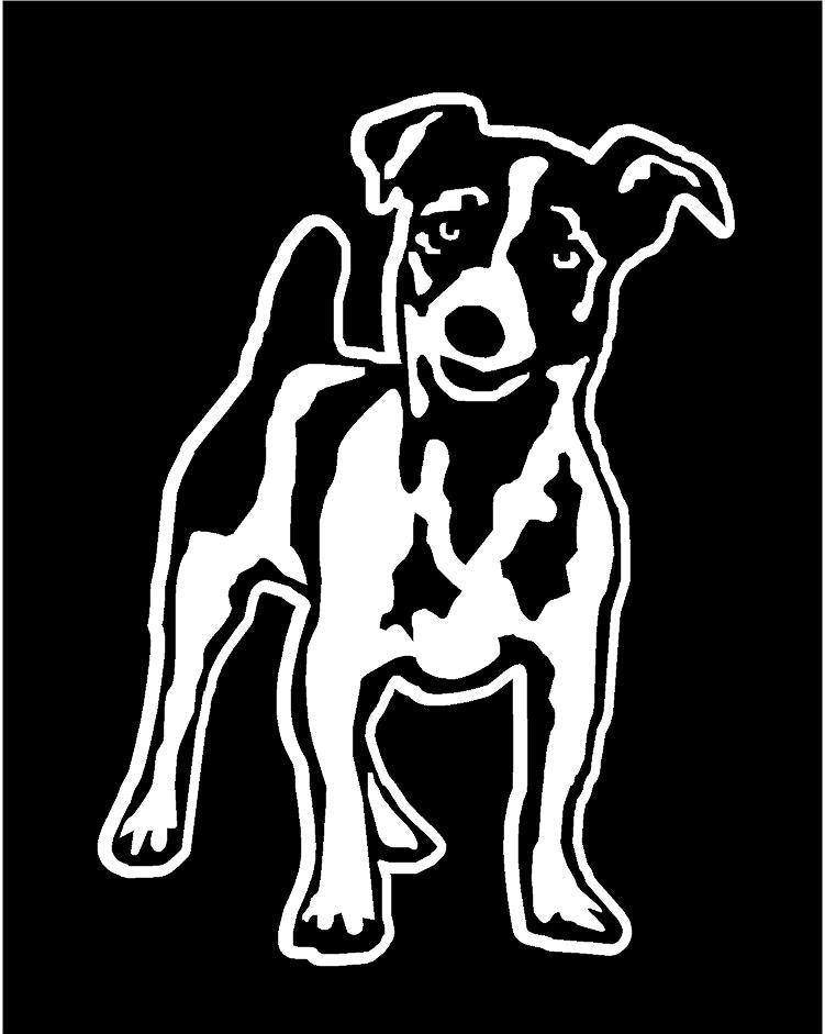jack russell dog decal