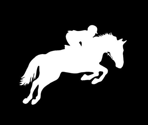 horse car decal