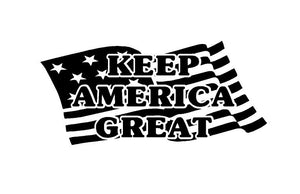 keep america great car truck window decal sticker
