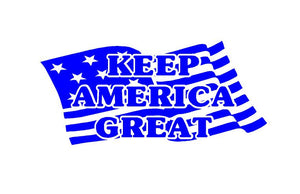 keep america great car decal