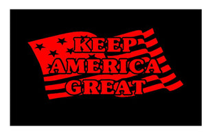 keep america great sticker
