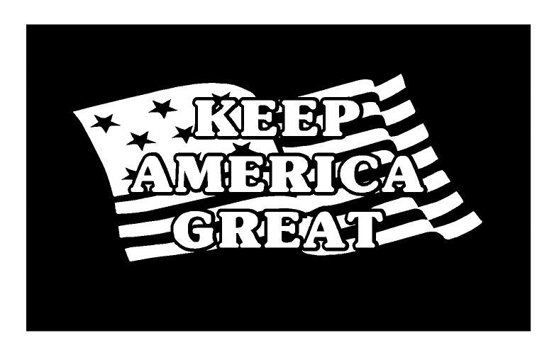 keep america great decal