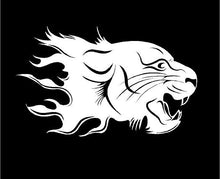 Load image into Gallery viewer, Tribal Lion Head decal car truck window sticker