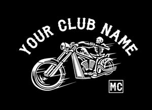 motorcycle club decal