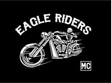 Load image into Gallery viewer, motorcycle club customizable sticker