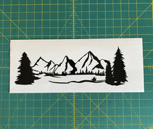 Load image into Gallery viewer, Mountain range adventure car truck badge decal sticker