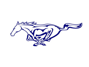 Horse Mustang Ford Decal Custom car window sticker