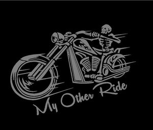My other ride motorcycle sticker