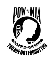 Load image into Gallery viewer, POW MIA vinyl decal