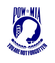 Load image into Gallery viewer, POW MIA Car truck window sticker