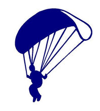 Load image into Gallery viewer, Parachute Sky Diving Decal car truck window laptop Skydivers sticker