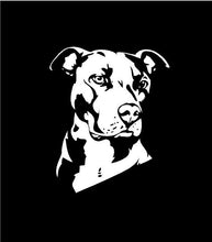 Load image into Gallery viewer, Pitbull Dog Decal Custom Vinyl Car Truck Window Sticker Personalize