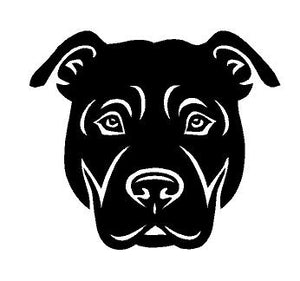 Pitbull Dog Decal Custom Vinyl Car Truck Window Sticker