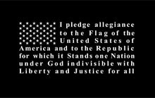 Load image into Gallery viewer, Pledge of Allegiance Flag decal