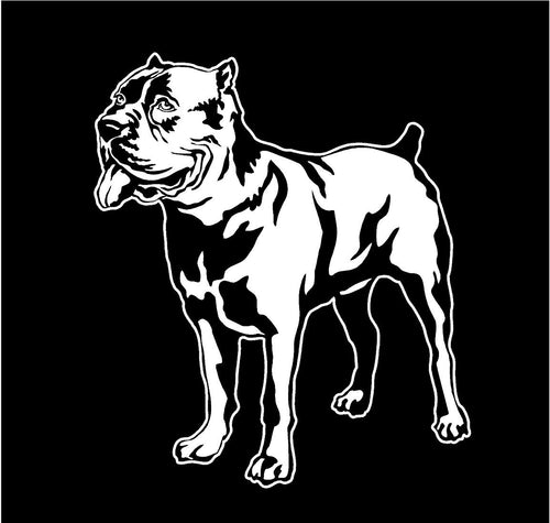 Rotweiler Dog Car Window Decal