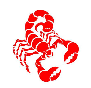 Scorpion decal Scorpio sticker car decal astrology sign