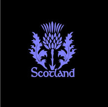 Load image into Gallery viewer, Scotland Thistle Decal Custom Celtic Heritage Vinyl Car Truck Window sticker