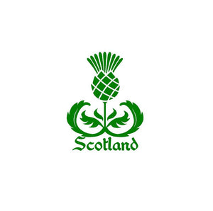 Scotland Thistle Decal Custom Scottish Celtic Heritage Vinyl Car Truck Window sticker