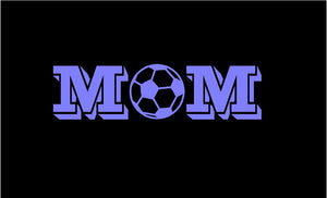 Soccor Mom Decal Custom Vinyl Car Truck Window Sports Sticker