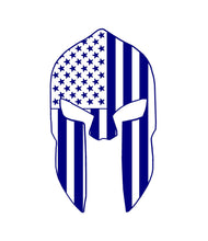 Load image into Gallery viewer, spartan helmet car decal