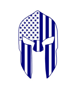 spartan helmet car decal