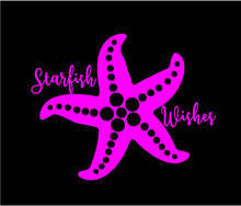 Load image into Gallery viewer, starfish wishes sticker