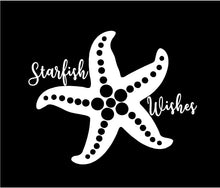 Load image into Gallery viewer, starfish wishes decal