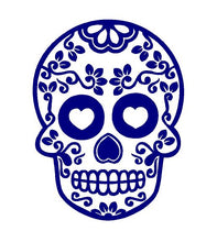 Load image into Gallery viewer, Sugar Skull Decal Custom Vinyl Car Truck Window Sticker