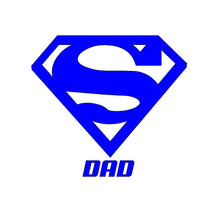 Load image into Gallery viewer, super dad decal