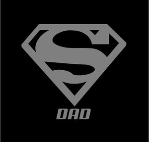 super dad fathers day sticker