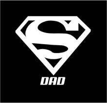 Load image into Gallery viewer, super dad car truck window decal