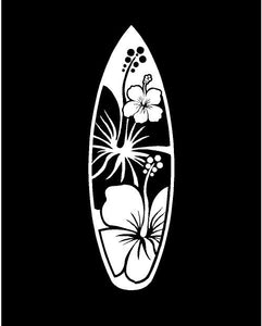 Surfboard Decal Custom Vinyl car truck window laptop sticker