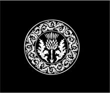 Load image into Gallery viewer, scottish thistle decal