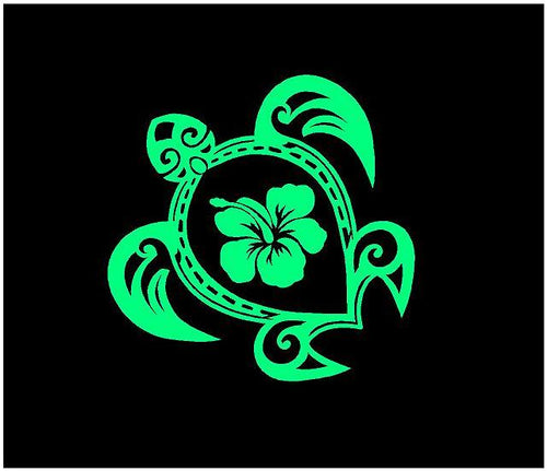 sea turtle decal car truck window sticker