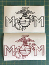Load image into Gallery viewer, USMC mom car decals