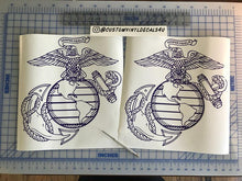 Load image into Gallery viewer, us marine corp ega decal car truck window military sticker