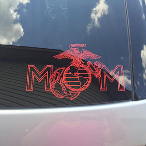 USMC mom decal