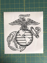 Load image into Gallery viewer, usmc decal