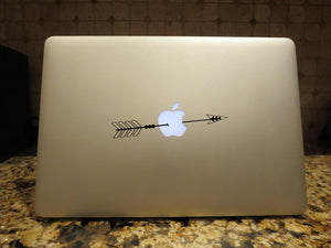 mac apple arrow laptop decal boho arrow sticker