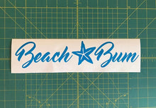 Load image into Gallery viewer, beach bum starfish decal