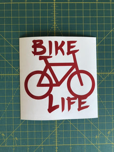 bike life decal car truck window bikers sticker