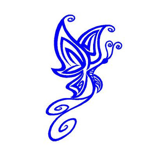 butterfly window decal