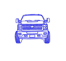 Load image into Gallery viewer, Chevy truck sticker