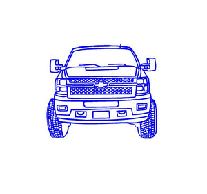 Chevy truck sticker