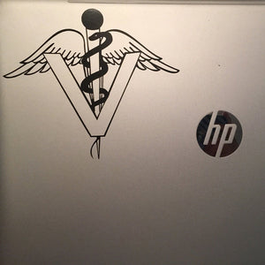 Veterinarian Vet Symbol Custom Vinyl Car Truck Window Laptop Decal