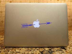 mac laptop arrow decal