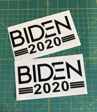 Load image into Gallery viewer, Biden 2020 Decal Custom Political Vinyl Car Truck Window Bumper Sticker